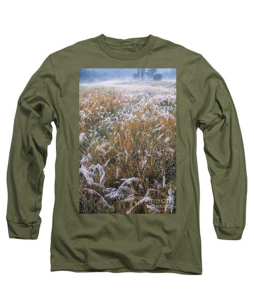 Kans Grass In Mist Long Sleeve T-Shirt