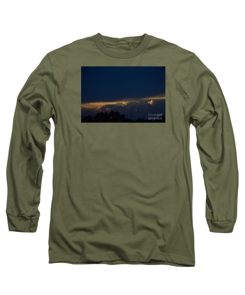 Kansas Sunset Angel Long Sleeve T-Shirt