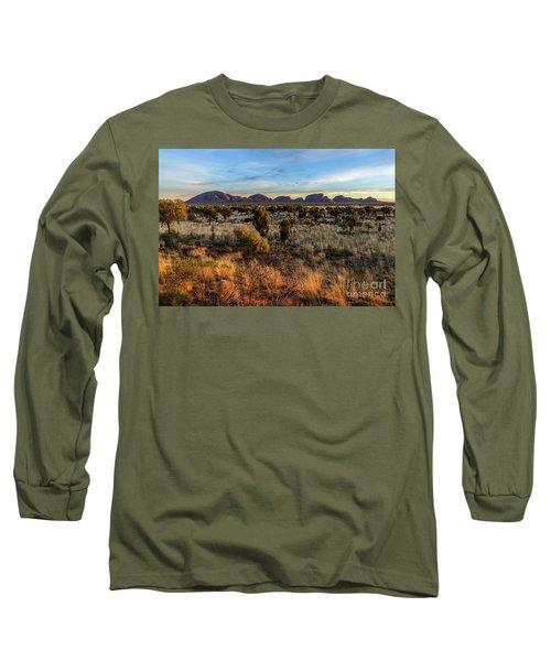 Long Sleeve T-Shirt featuring the photograph Kata Tjuta 02 by Werner Padarin