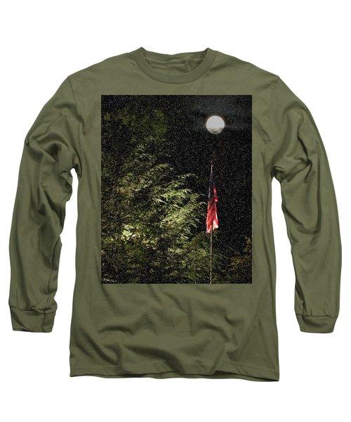 Keeping America  Illuminated.  Long Sleeve T-Shirt