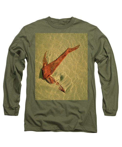 Kelp 2 Long Sleeve T-Shirt by Art Shimamura
