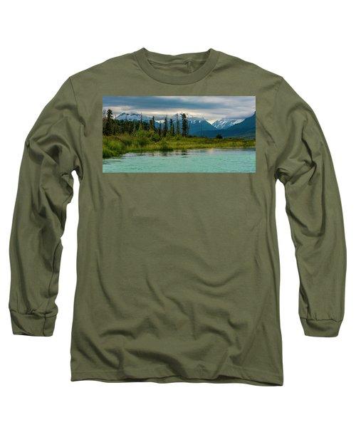 Long Sleeve T-Shirt featuring the photograph Kenai by Gary Lengyel