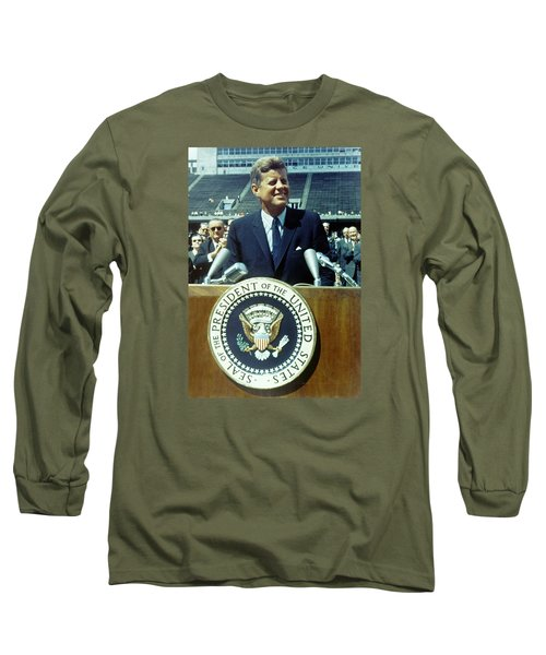 Kennedy At Rice University Long Sleeve T-Shirt