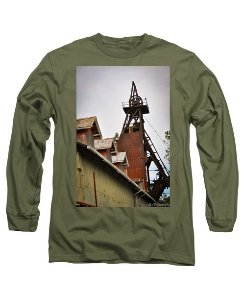 Kennedy Mine Headframe Long Sleeve T-Shirt
