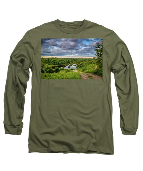 Kentucky Hills And Lake Long Sleeve T-Shirt