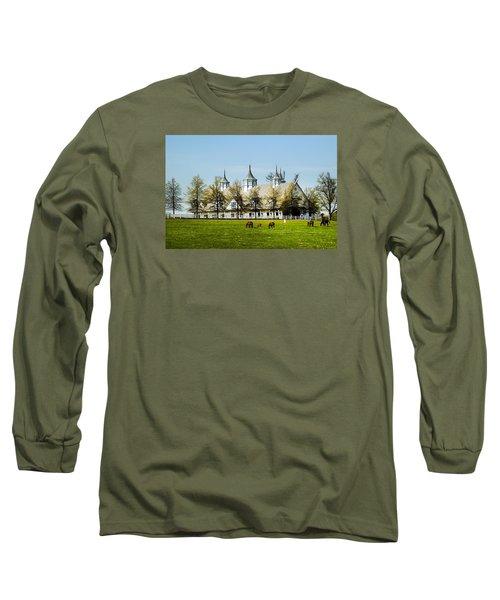 Revised Kentucky Horse Barn Hotel 2 Long Sleeve T-Shirt
