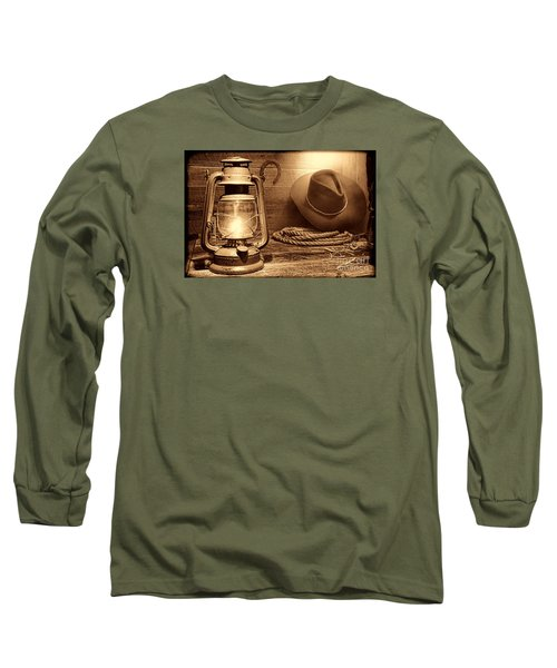 Kerosene Lantern Long Sleeve T-Shirt