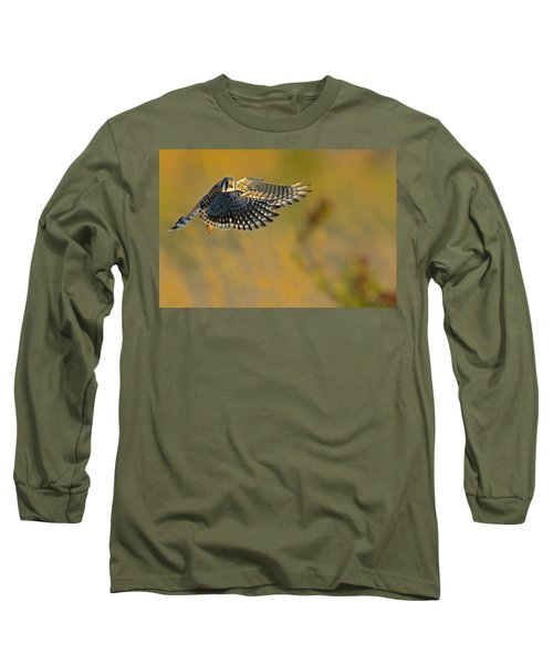 Kestrel Takes Flight Long Sleeve T-Shirt