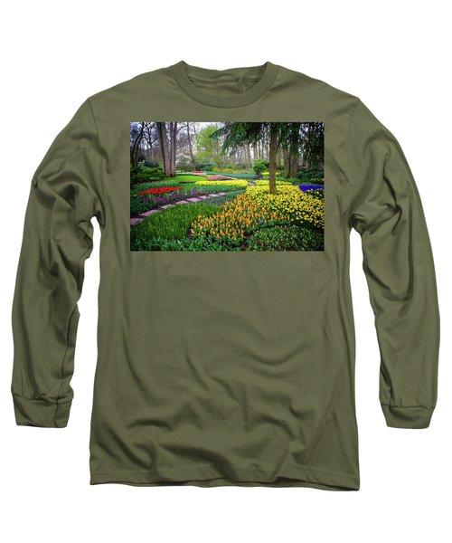 Keukehof Botanic Garden 2015 Long Sleeve T-Shirt