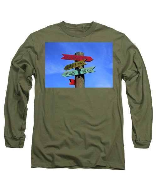 Key West 165 Miles Long Sleeve T-Shirt