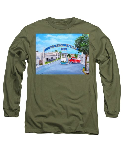Key West U.s. Naval Station Long Sleeve T-Shirt
