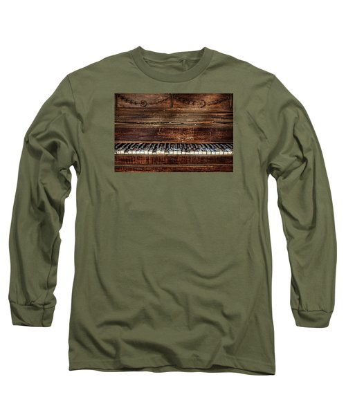 Long Sleeve T-Shirt featuring the photograph Keyless by Ken Smith