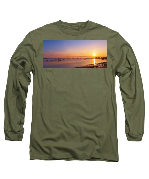 Keyport Harbor Sunrise  Long Sleeve T-Shirt