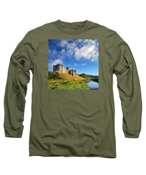Kidwelly Castle 1 Long Sleeve T-Shirt