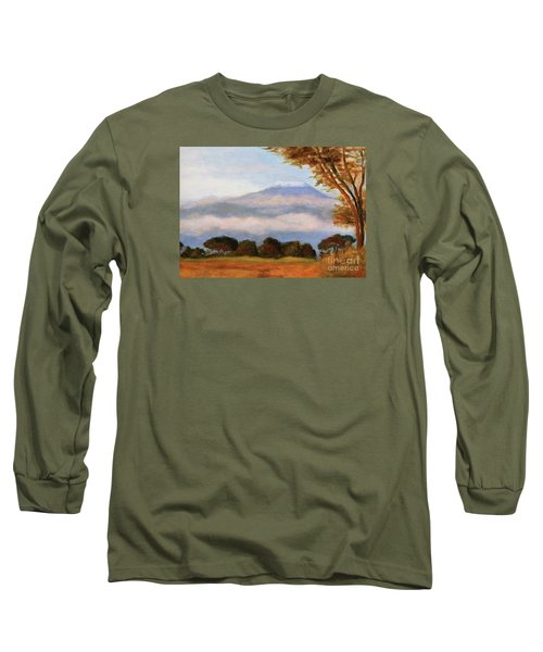 Kilamigero Long Sleeve T-Shirt by Marcia Dutton