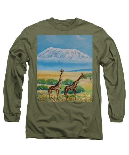 Kilimandjaro Long Sleeve T-Shirt