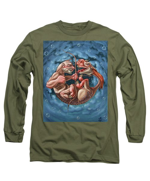 Killing The Dragon In Itself Long Sleeve T-Shirt