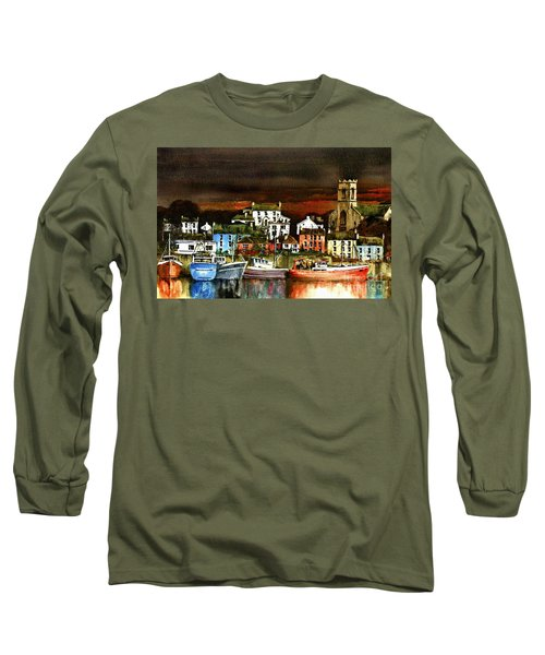 Killybegs Harbour, Donegal. Long Sleeve T-Shirt