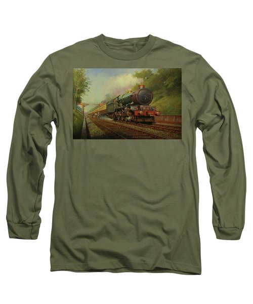 King In Sonning Cutting. Long Sleeve T-Shirt