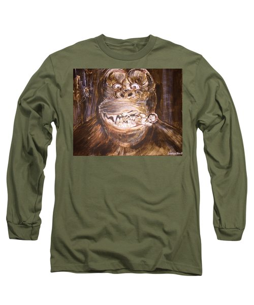 King Kong - Deleted Scene - Kong With Native Long Sleeve T-Shirt