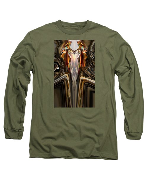 King Of The Aviary Long Sleeve T-Shirt by Steve Sperry
