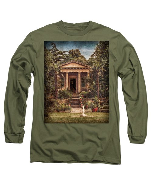 Kew Gardens, England - King William's Temple Long Sleeve T-Shirt