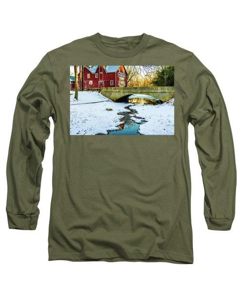 Kirby's Mill Landscape - Creek Long Sleeve T-Shirt