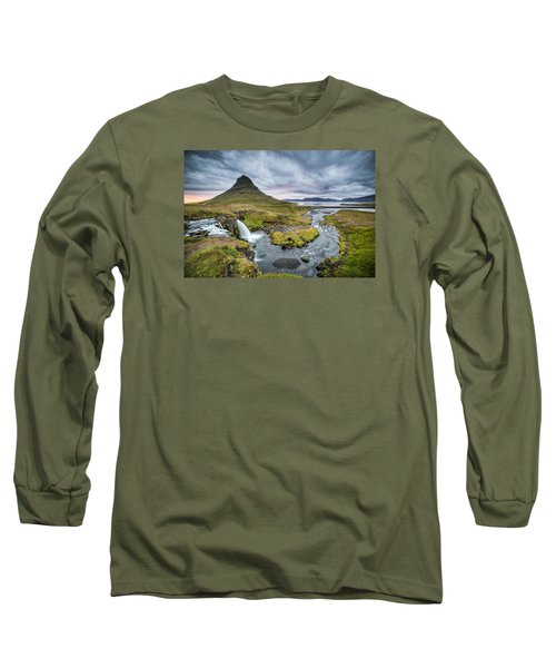 Kirkjufellsfoss 1 Long Sleeve T-Shirt