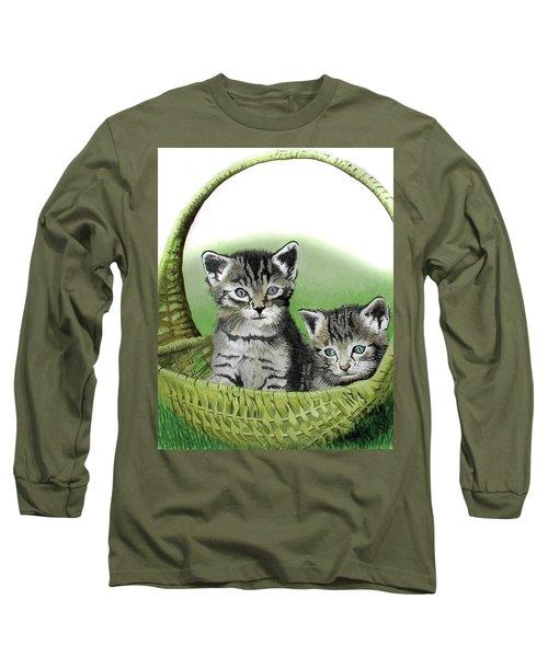 Kitty Caddy Long Sleeve T-Shirt by Ferrel Cordle