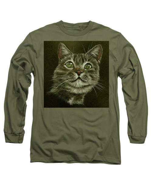 Kitty Cat Long Sleeve T-Shirt