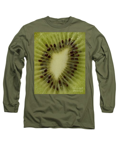 Kiwi Macro Long Sleeve T-Shirt