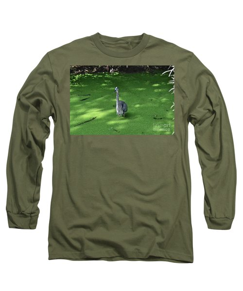 Long Sleeve T-Shirt featuring the photograph Knee Deep by Carol  Bradley