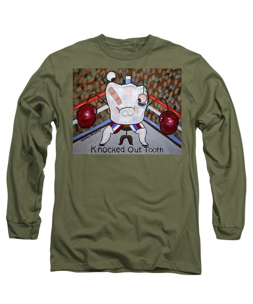 Knocked Out Tooth Long Sleeve T-Shirt