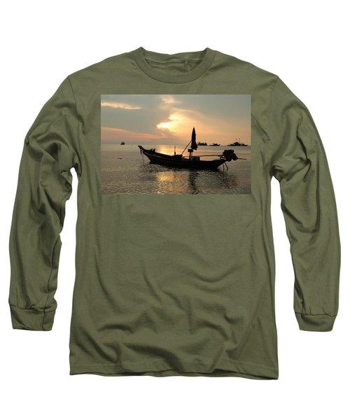 Ko Tao In Evening Long Sleeve T-Shirt