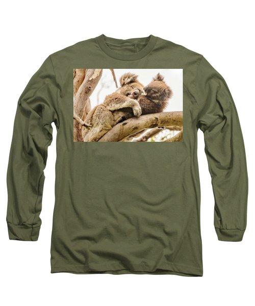 Koala 5 Long Sleeve T-Shirt by Werner Padarin