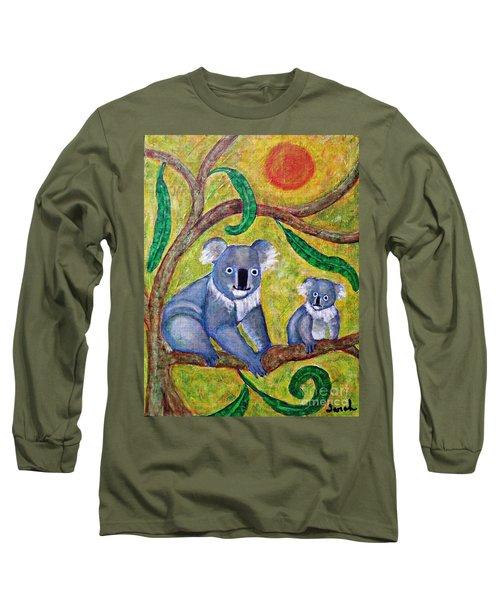 Koala Sunrise Long Sleeve T-Shirt