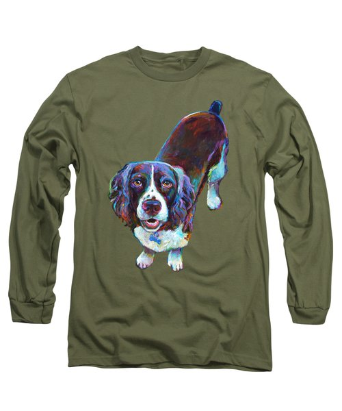 Koda The Spaniel Long Sleeve T-Shirt