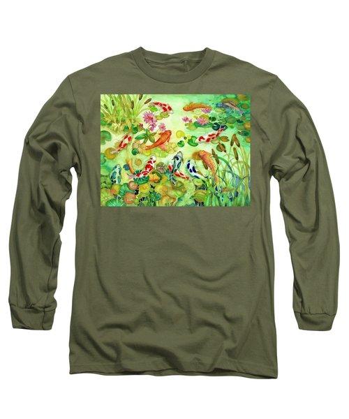 Koi Pond II Long Sleeve T-Shirt