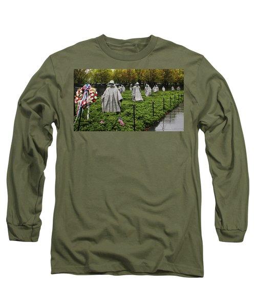 Korean War Veterans Memorial Long Sleeve T-Shirt