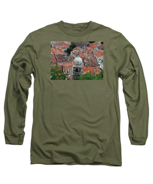 Kotor Rooftops Long Sleeve T-Shirt