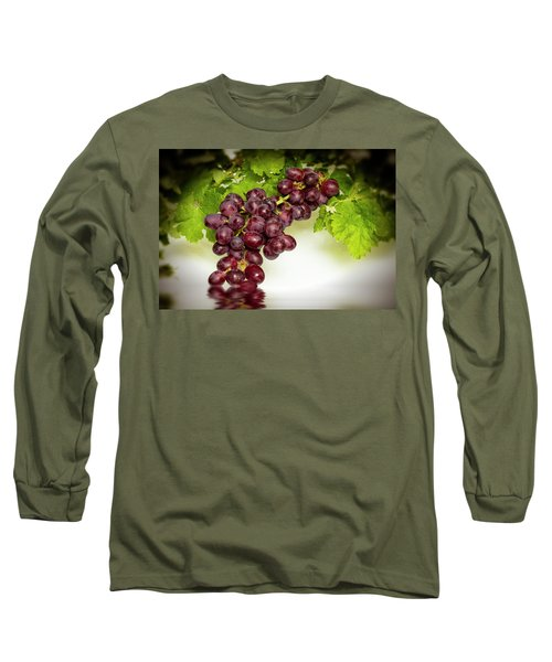 Krissy Gold Grapes Long Sleeve T-Shirt