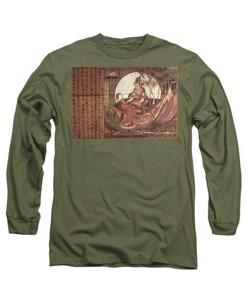 Kuanyin Goddess Of Compassion Long Sleeve T-Shirt