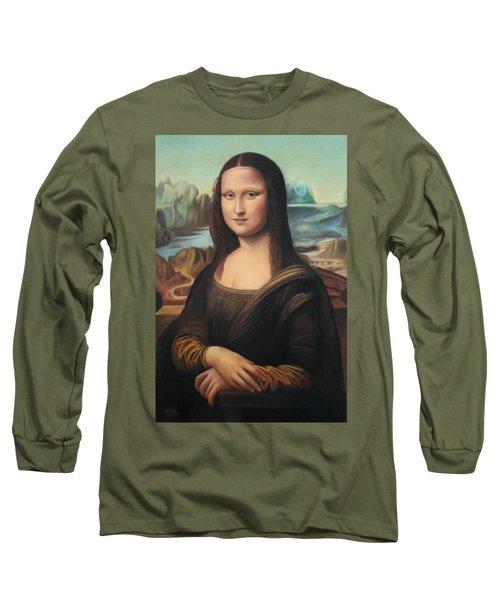 La Gioconda - Pastel  Long Sleeve T-Shirt