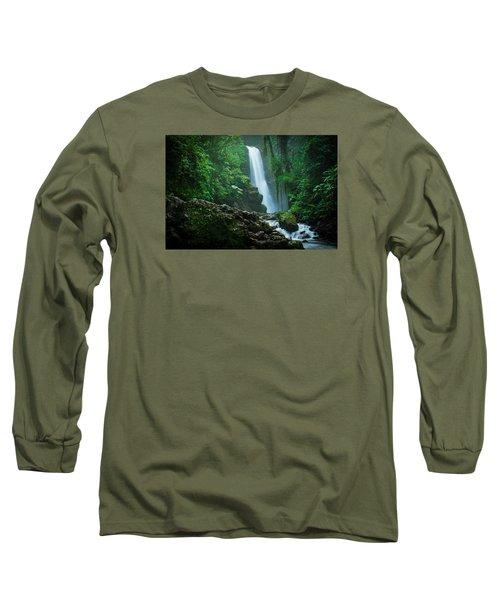 La Paz Waterfall Costa Rica Long Sleeve T-Shirt