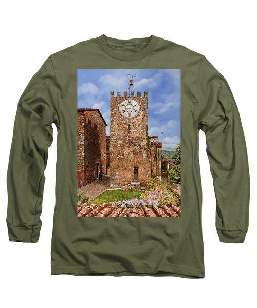 La Torre Del Carmine-montecatini Terme-tuscany Long Sleeve T-Shirt