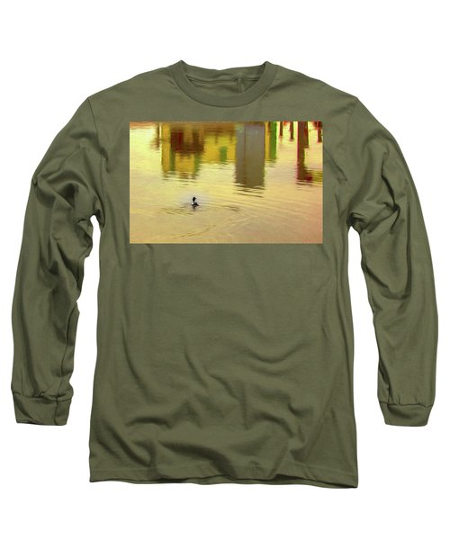 Labyrinthine #d7 Long Sleeve T-Shirt