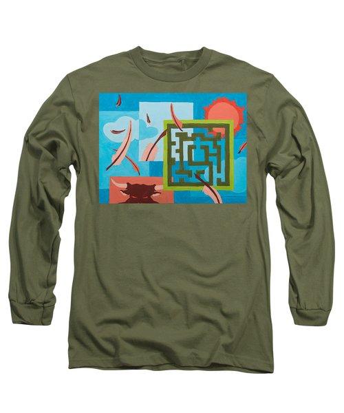 Labyrinth Day Long Sleeve T-Shirt