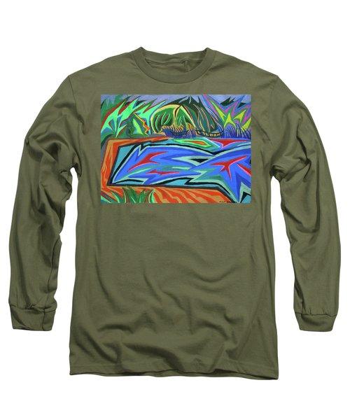 Lac Aura Long Sleeve T-Shirt by Robert SORENSEN