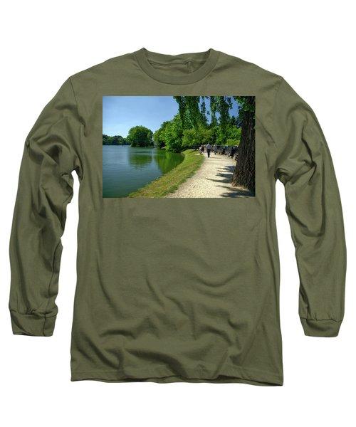 Lac De Genval Long Sleeve T-Shirt