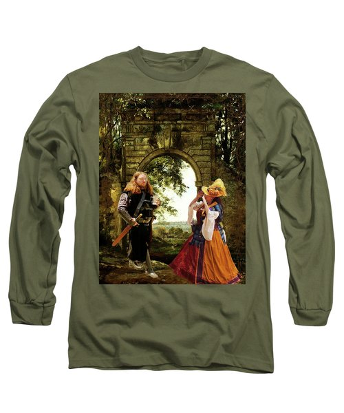 Lady At The Gate Long Sleeve T-Shirt